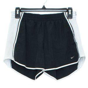 Nike Womens Shorts Running Black White Small BW